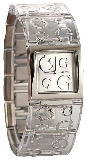 Sra W10102l3 Y Transparente Mujer Guess Acero Reloj BedxWrCo