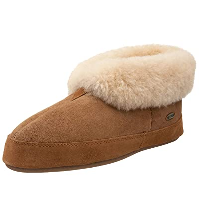 Amazon.com | ACORN Men's Sheepskin Bootie Slipper | Slippers