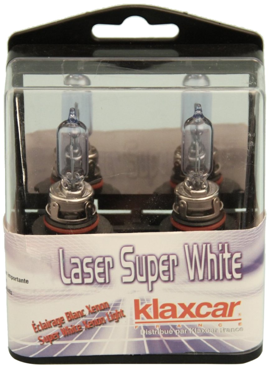 Klaxcar 86458Jb Usa Hb3 Laser 12V 60W P20D Bulb Kit - Super White