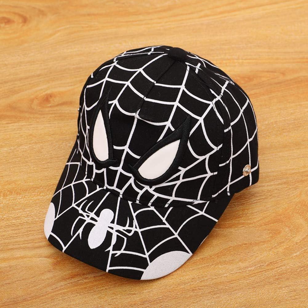 Details about  /Cute Spider Detachable Face Shield Anti-spitting Hat Kids Baseball Cap Dustproof