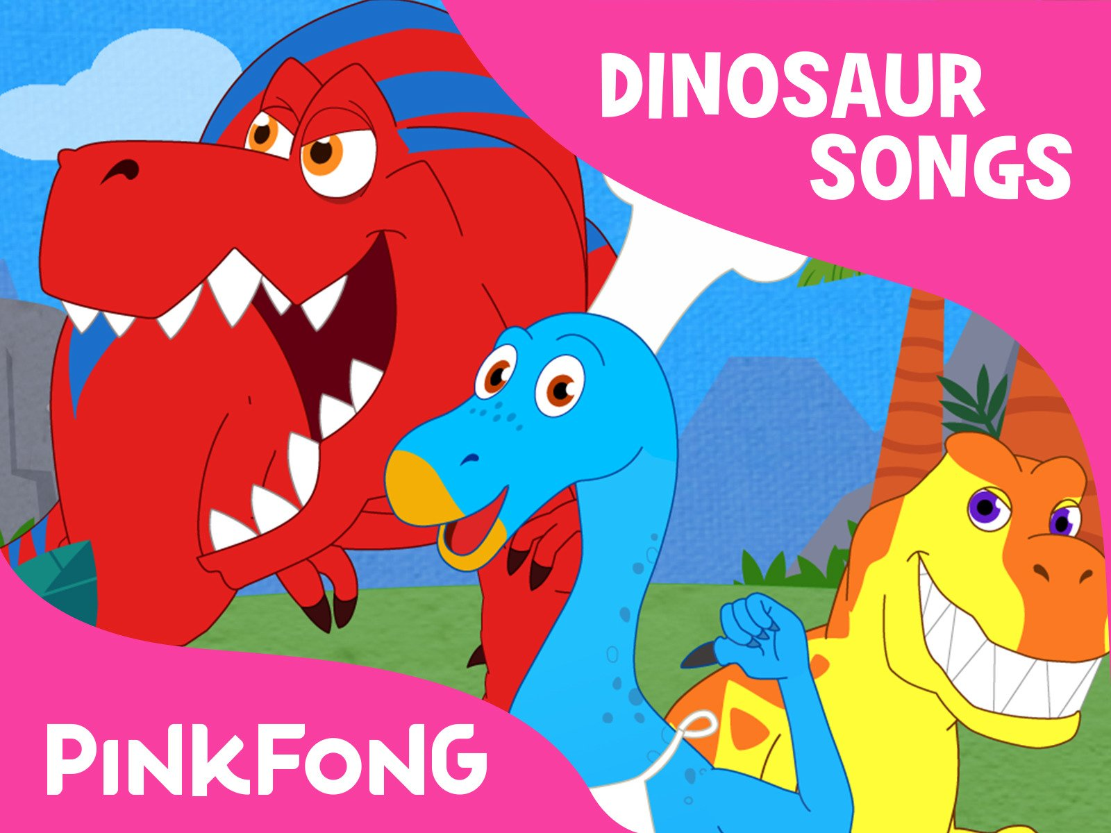 Dinosaur Songs: Pinkfong