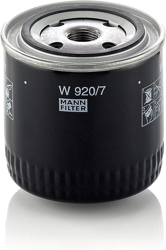 Original Mann Filter Ölfilter W 920 7 Getriebefilter Für Pkw Und Nutzfahrzeuge Auto