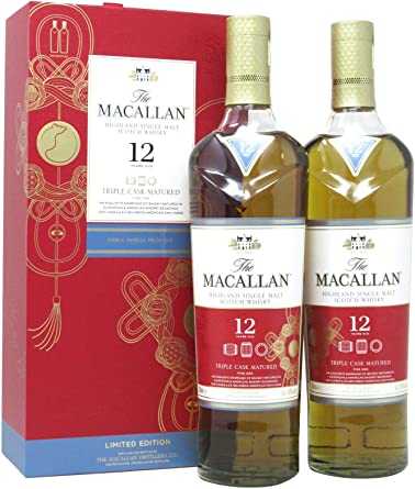 Macallan - Triple Cask Chinese Lunar Year Of The Rat 2020 Twin ...