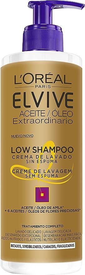 Shampoo para cabello rizado elvive