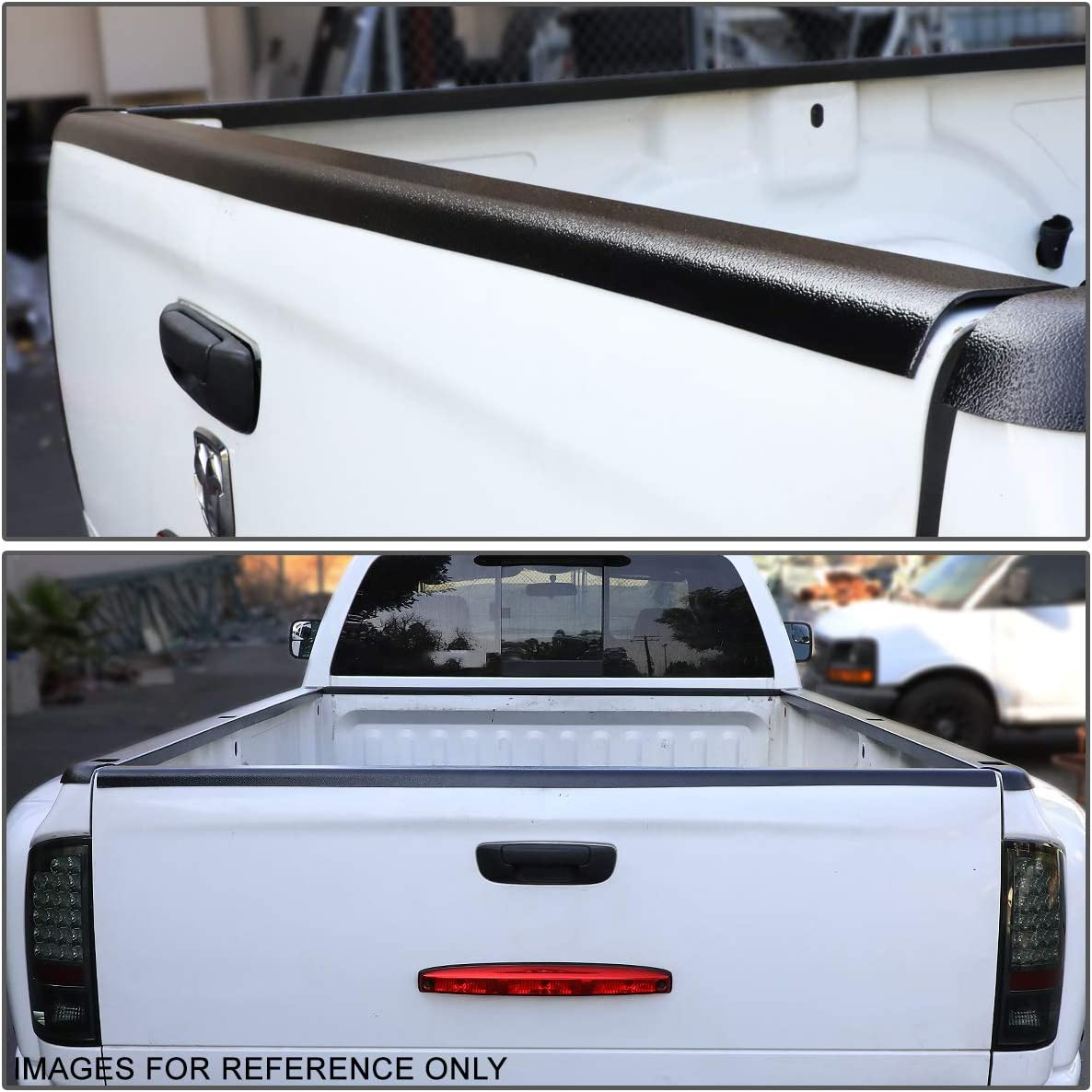 Wade 72-01177 Truck Bed Tailgate Cap Black Smooth Finish for 2004-2012 Chevrolet Colorado /& GMC Canyon replaces factory tailgate cap