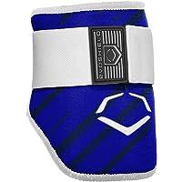 EvoShield 2046120.463 MLB Batters Speed Stripe Elbow Guard, Royal, Adult