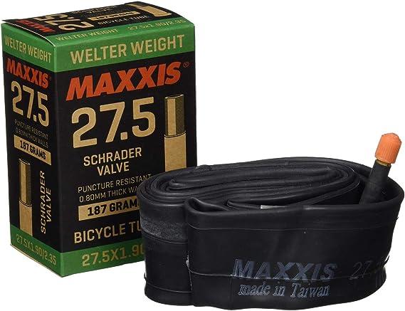 Maxxis Welter Weight cámara de Aire Mixta, Welter Weight, Negro, 29 x 1,90/2,35: Amazon.es: Deportes y aire libre