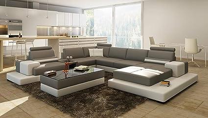 Amazon.com: My Aashis Luxury Contemprory U Shape Sofa Modular ...