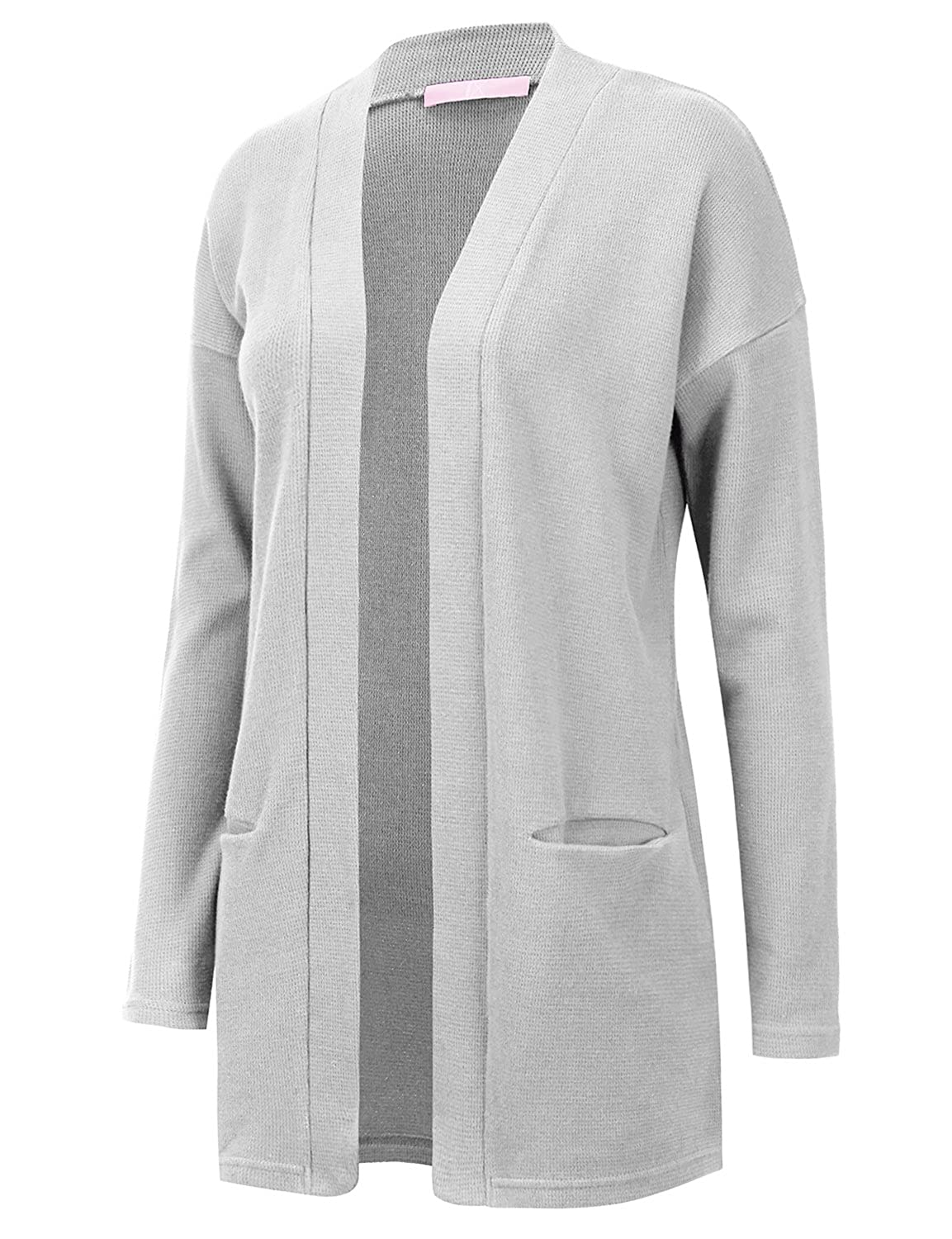 Regna X Love Coated Womens Long Sleeve Spring Cardigan Sweater 4 Styles, 10 Colors, S-3X