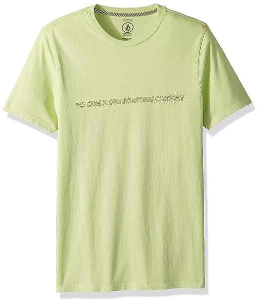 Volcom Wiggly Basic Boys T-shirt White All Sizes