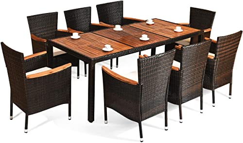 UMTEC Outdoor Dining Table Set