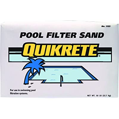 Quikrete Pool Filter Sand Swimming : Swimming Pool Sand Filters : Garden & Outdoor