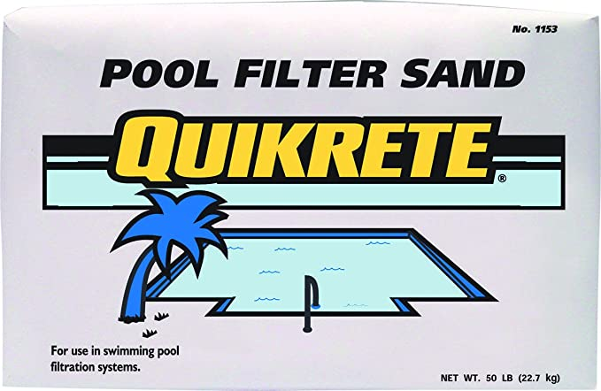 Quikrete Pool Filter Sand Swimming Swimming Pool Sand Filters Garden Outdoor