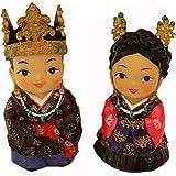 Amazon Com Silver J Korean Dolls King And Queen