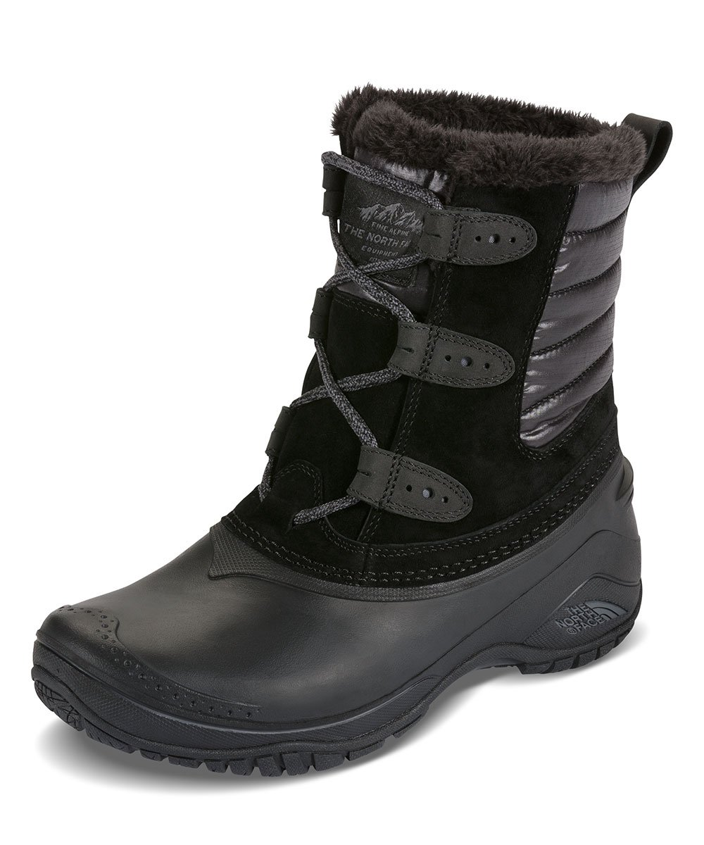 The North Face Shellista II Shorty Boot Women's TNF Black/Smoked Pearl Grey 9