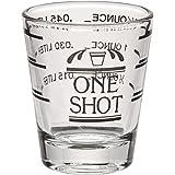 """True Measured Bar Essentials, 2.5"""", Bullseye - Shot Glass"""