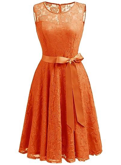 The 8 best orange bridesmaid dresses under 50