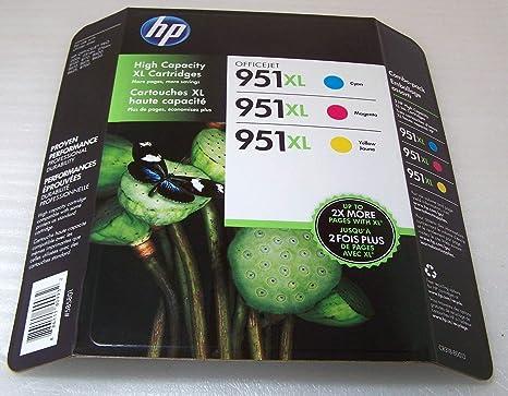 Amazon.com: HP 951XL - Cartucho de tinta de alto rendimiento ...