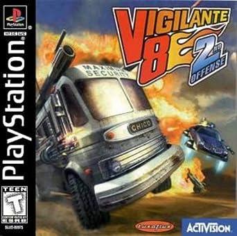 vigilante 8 2nd offense ps1
