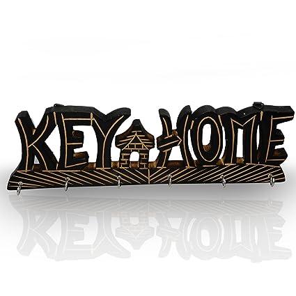 Amazon.com : Decorative Wall Mounted Key Holder - Vintage Key Holder ...