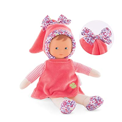 Corolle mon doudou Miss Floral Bloom Toy Baby Doll, Pink: Toys & Games