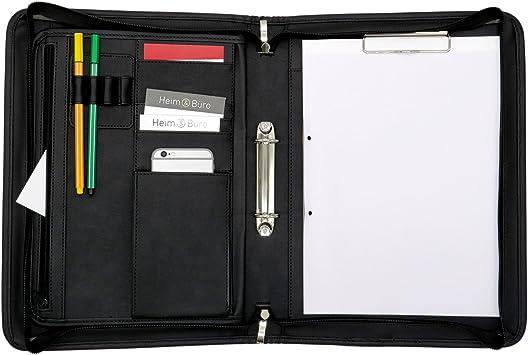 Schreibmappe Aktenmappe Aktentasche DIN A4 Dokumentenmappe Tagungsorganizer Neu