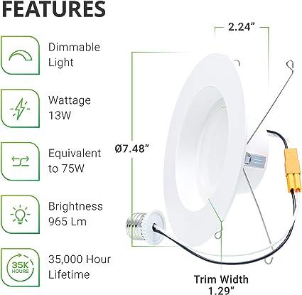 Spot ext/érieur mural compact up down pour fa/çades en blanc 2x douille GU10 jusqu/à 35/W chacune IP44 Lampe ext/érieure lampe de jardin cour ext/érieur