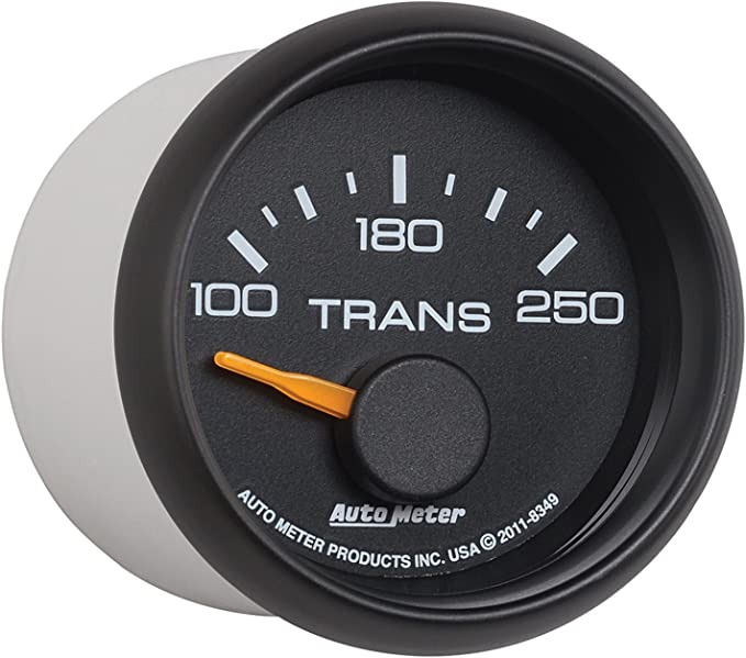 Auto Meter 3649-00406 GM Series Electric Transmission Temperature Gauge