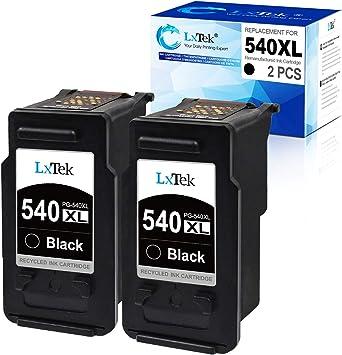 LxTek Cartucho de tinta Remanufacturado para Canon PG-540 XL 540XL ...