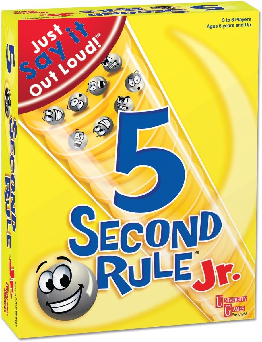 University Games - Juego para niños (5 Segundos): Amazon.es ...