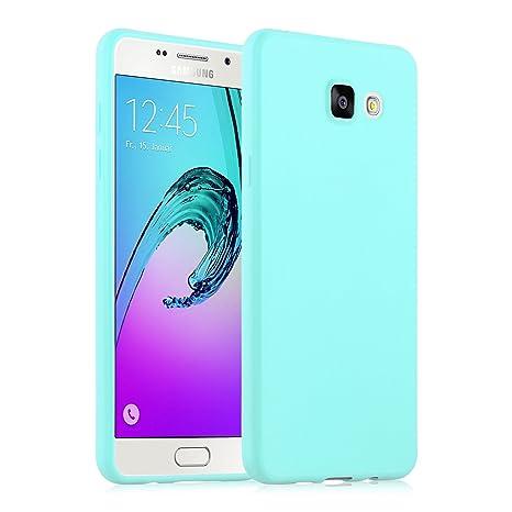 brand new 1e7cf 5ad51 Galaxy A5 (2016) Case, JAMMYLIZARD Ultra Slim Silicone Jelly Back Cover for  Samsung Galaxy A5 (6) 2016, Blue
