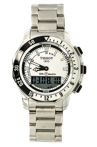 mathey-tissot mar Touch cuarzo Mens Reloj t026420 a (Certificado) de segunda mano: Mathey-Tissot: Amazon.es: Relojes