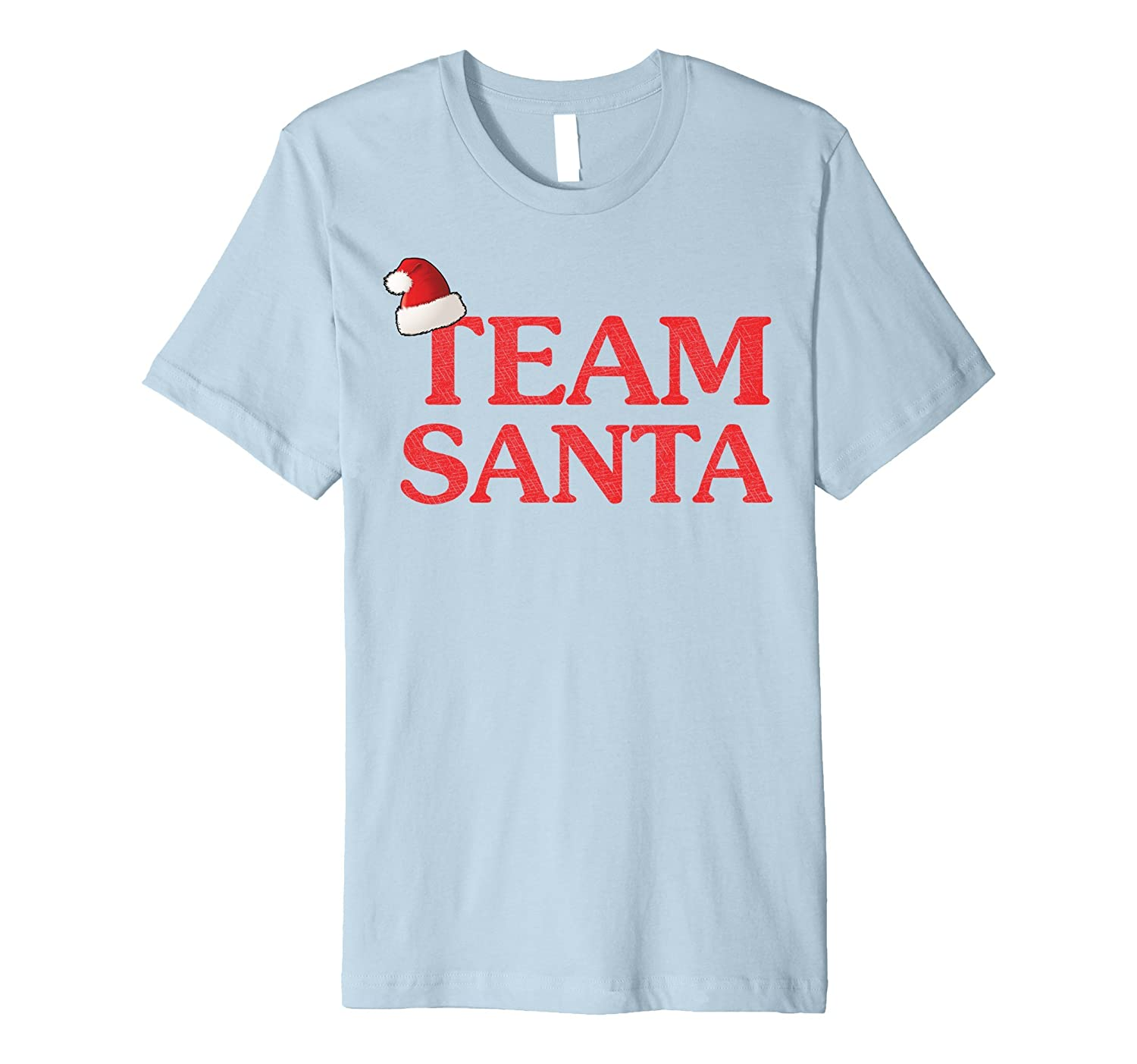 Team Santa Funny Christmas T-shirt | Christmas Apparel-ANZ