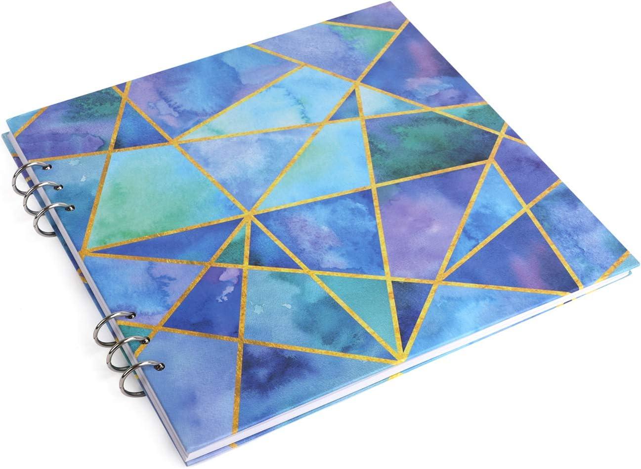 Wirebound LargerTravel Journal Notebook 40 Sheets Side Spiral Blank Sketchbook Unlined Scrapbook Personal Planner Agenda Organizer,Dream Goal Notepads,School Office Stationery Gifts Pink