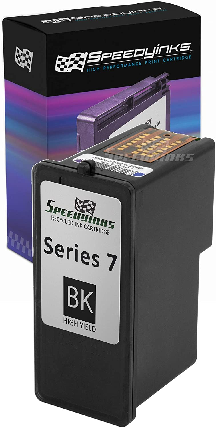 Speedy Inks Remanufactured Ink Cartridge Replacement for Dell CH883 | Series 7 High Yield (Black)