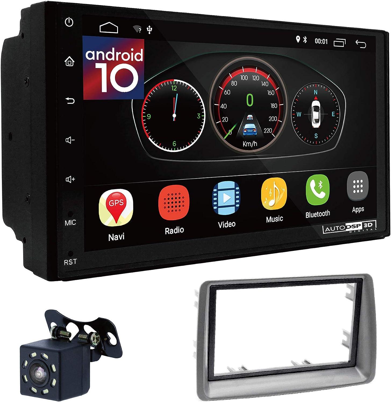Ugar Ex10 7 Android 10 Dsp Autoradio Gps Navigation 11 280 Radioblende Dash Installation Faszie Kit Für Fiat Panda 169 2003 2012 Navigation