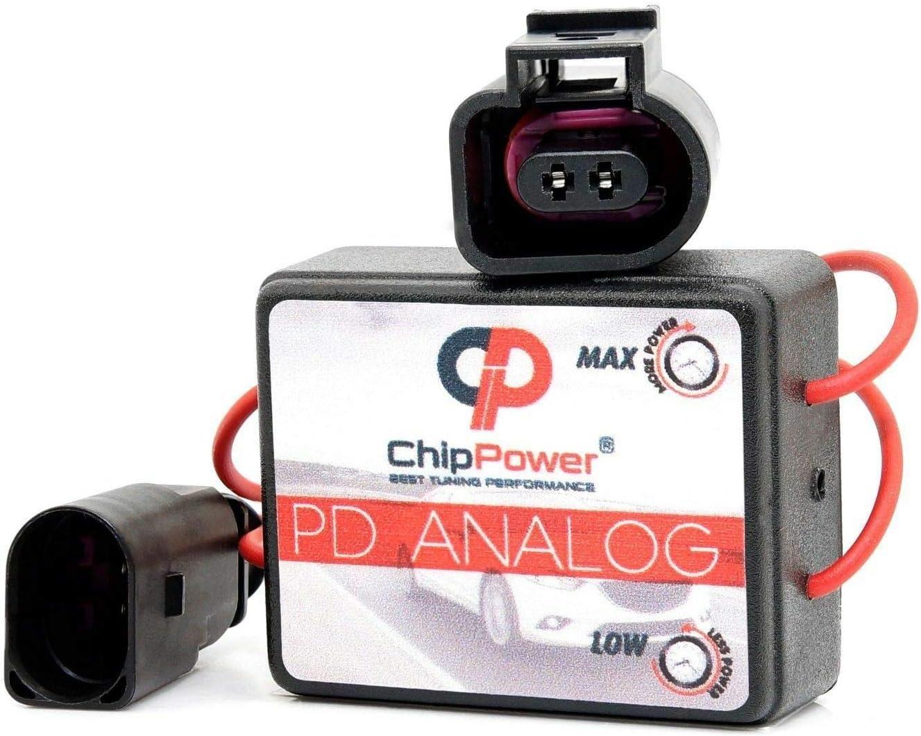 ChipPower Centralina Aggiuntiva PDa per POLO 1.4 TDI 51//55//59 kW 70//75//80 CV 2001-2009 Power Chip Tuning Box Diesel