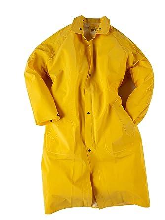 Neese 1650C PVC/Polyester Economy Rain Coat with Hood, 48