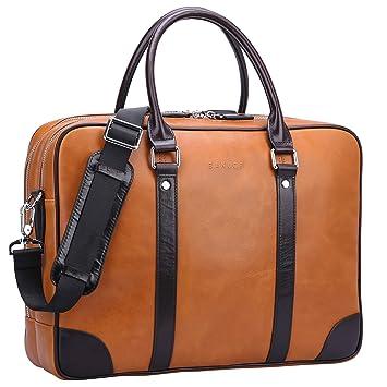 Amazon.com: Banuce – portafolios portafolios de piel para ...