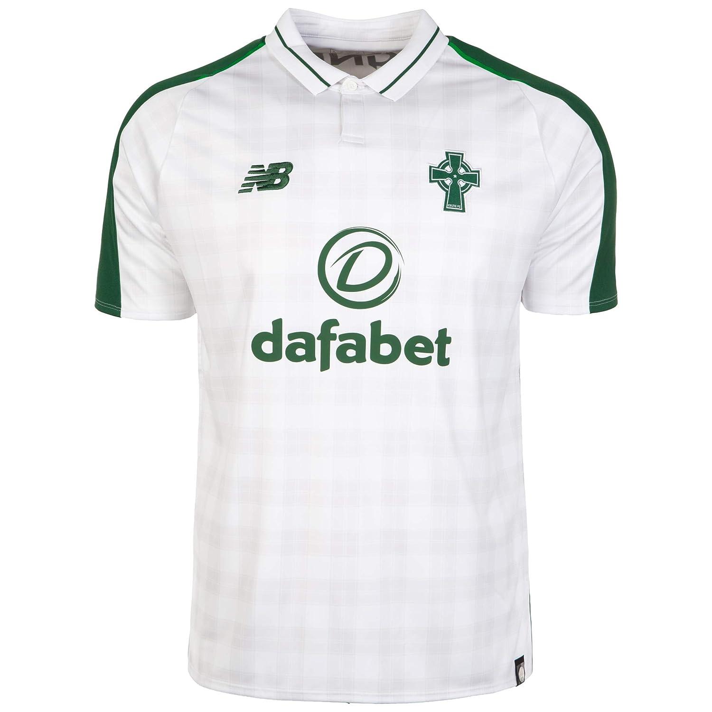 "2018-2019 Celtic Away Football Shirt B078GSJZ9P Large 41-43"" Chest (104-109cm)|White White Large 41-43"" Chest (104-109cm)"