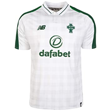 9a9a54d0a New Balance Men's's Celtic Fc Away Short Sleeve Jersey: Amazon.co.uk ...