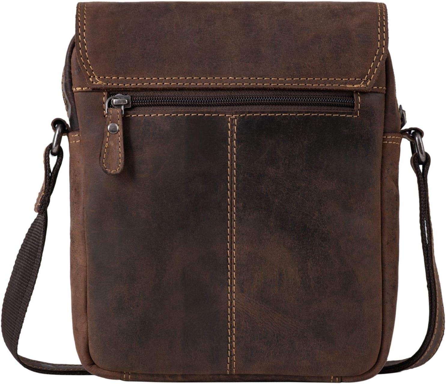 Couleur:Milano Marron STILORD Martinez Sacoche Vintage Cuir Homme Sac /à Bandouli/ère Petit pour iPad 9.7 Sac Messager Messenger Bag Besace en Cuir v/éritable