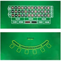 Blackjack and Roulette Table Felt by Brybelly