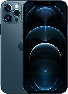 Apple iPhone 12 Pro, 128GB, Pacific Blue - Fully Unlocked (Renewed)