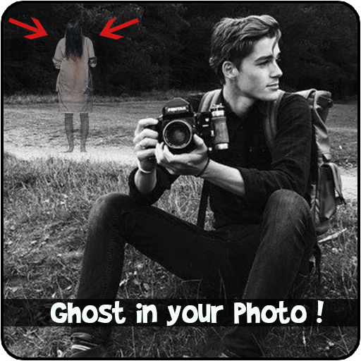 Scary Ghost In Photo Prank