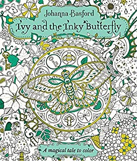 Amazoncom Magical Jungle An Inky Expedition and Coloring Book