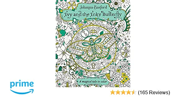 Amazon.com: Ivy and the Inky Butterfly: A Magical Tale to Color ...