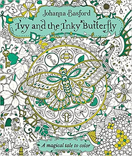 Ivy And The Inky Butterfly A Storybook To Color