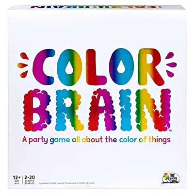 Colorbrain, The Ultimate Family Board Game, for Teens & Adults: Toys & Games