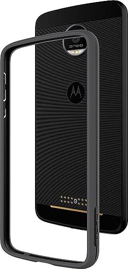 on sale 30501 7f680 Incipio Motorola Moto Z Co - Molded Bumper Case - Black